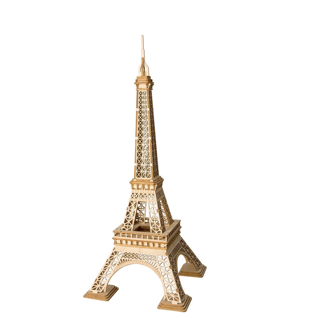DIY Eiffel Tower Laser Cutting