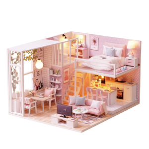 DIY Miniature Joanna's Loft Dollhouse