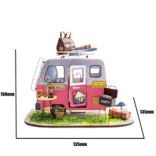 DIY Miniature Happy Camper Dollhouse