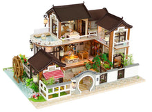 Miniature DIY Chinese House Set