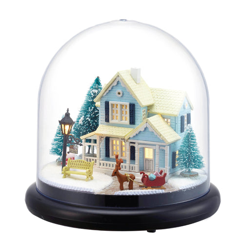 DIY Miniature Yuletide House Music Box