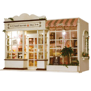 Miniature DIY Sweet Berries Pastry Shop