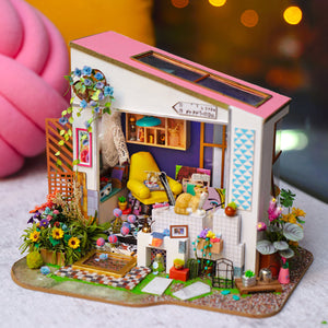 DIY Miniature Lily's Porch Dollhouse