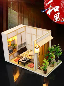 DIY Miniature Classic Japanese Room Set