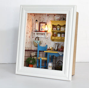 Miniature DIY Leisure Room Frame Set