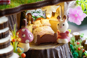 Miniature Sylvanian Family Wooden DIY