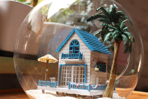 Miniature Beachhouse Hanging DIY