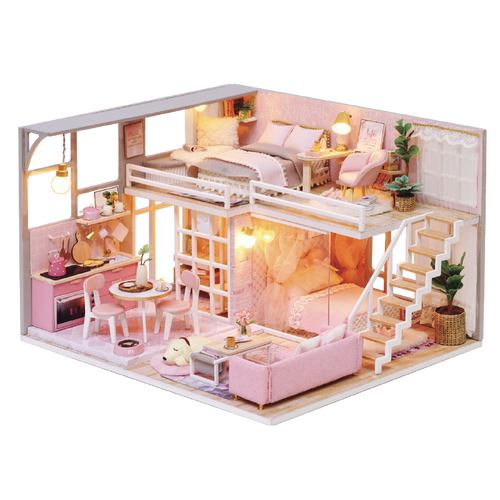 DIY Miniature Arianna's Loft Dollhouse