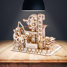 Wooden DIY Marble Run Series Tower Coaster