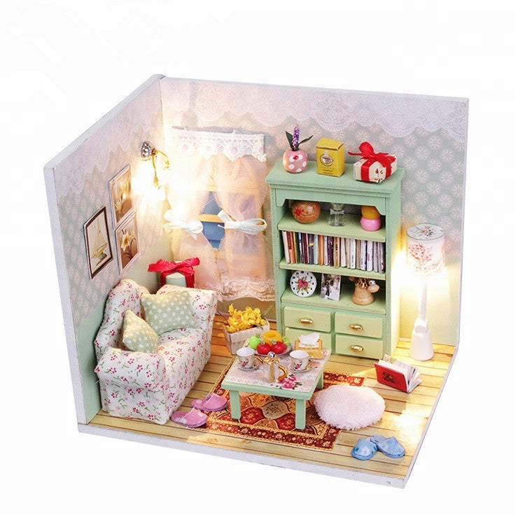 DIY Miniature Family Hall Set