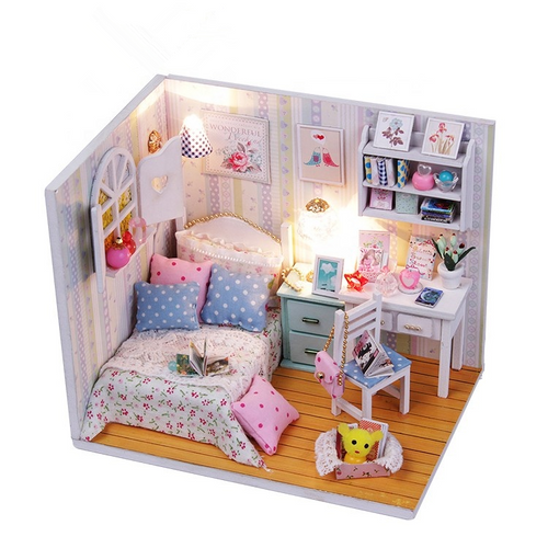 DIY Miniature Adabelle's Room Set