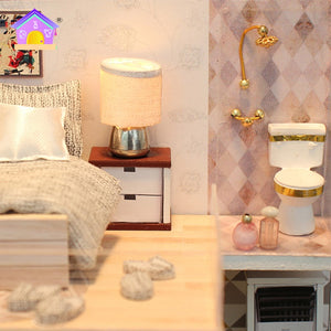 Miniature DIY Romantic European Apartment
