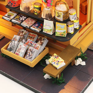 Miniature DIY Chaoyang Japanese Grocery Store