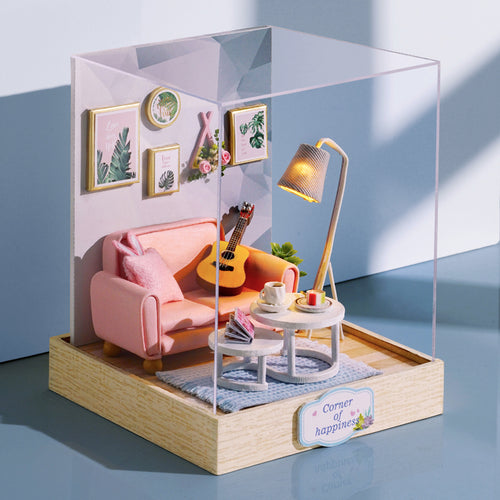 DIY Miniature Lil Living Room Set