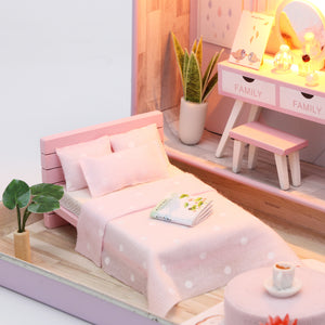 Happy Pink Bedroom Box Theater