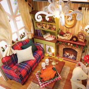 DIY Miniature Holiday Times Dollhouse