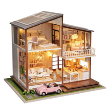 DIY Miniature Grand Cabin Villa Set