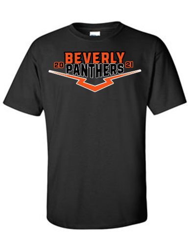 Beverly Panthers Ultra Cotton Black T-Shirt