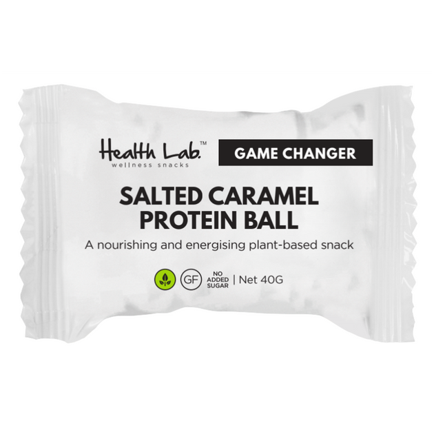 Salted Caramel Protein Ball | Vegan