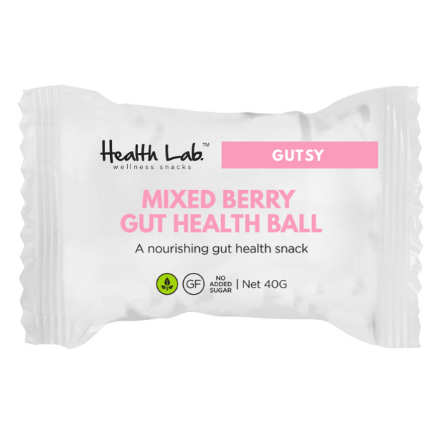 Gut Health Berry Ball | Vegan