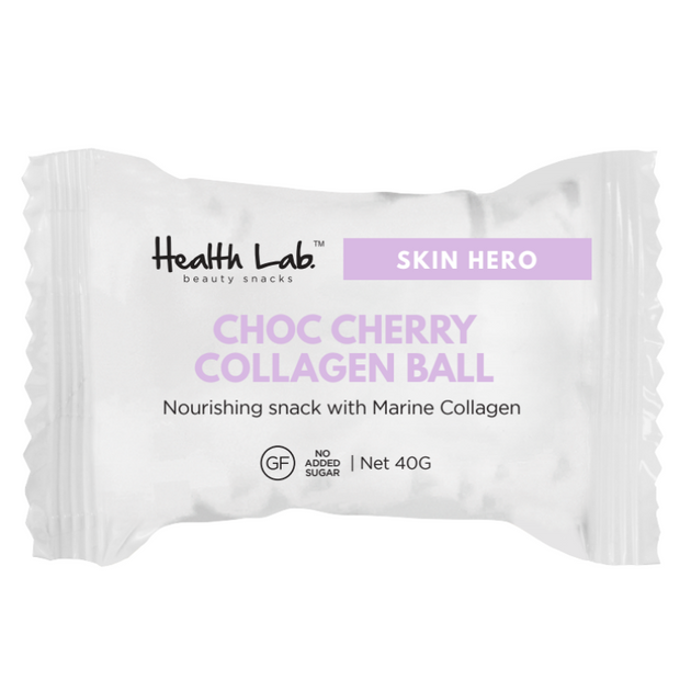 Choc Cherry Collagen Protein Ball