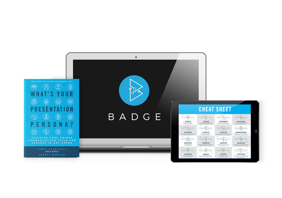 Badge: Discover Your Presentation Persona (Online Course)