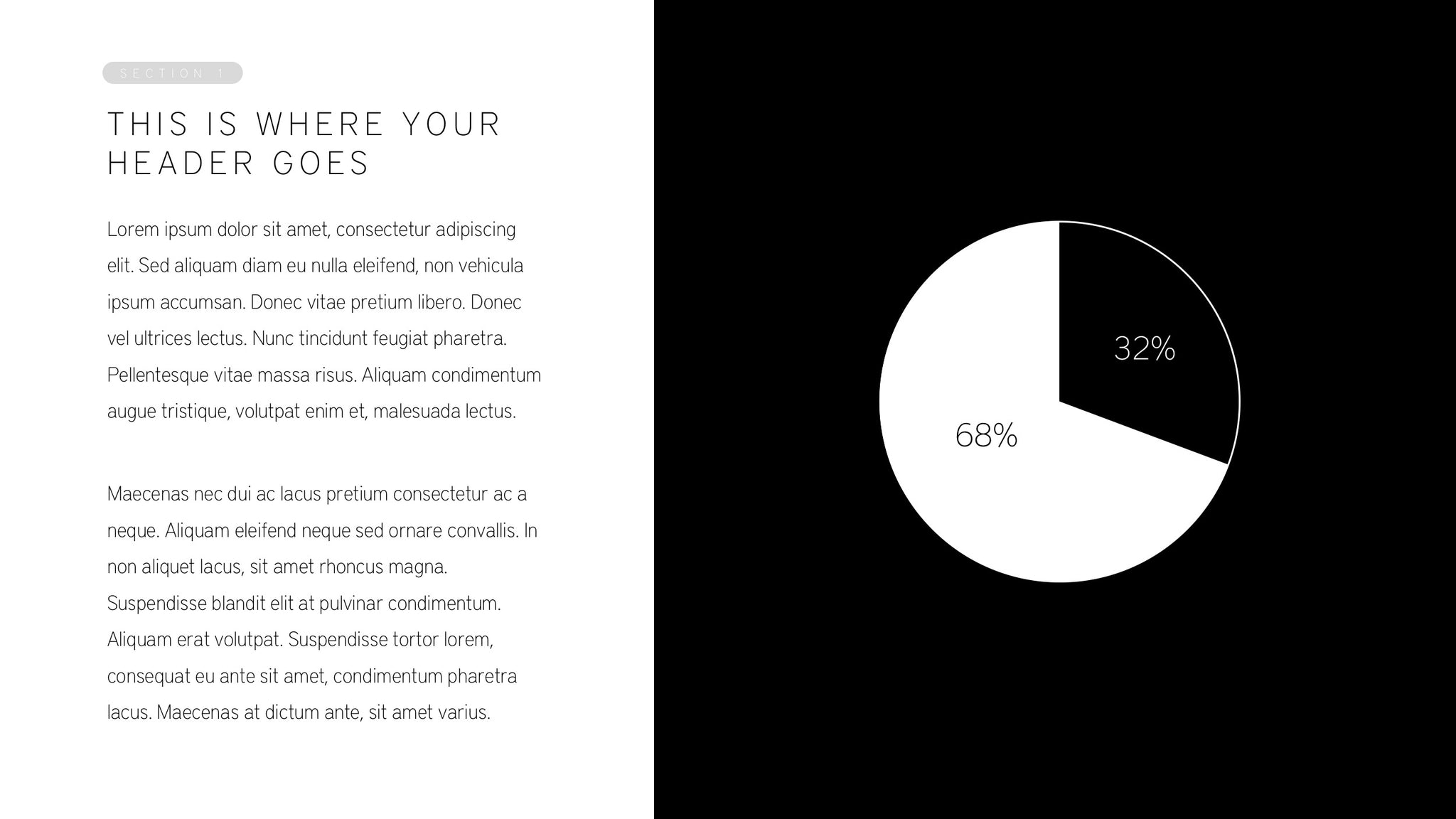Noir Powerpoint Template The Ethos3 Store