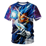 Dragon Ball Vegeta Short Sleeve T-shirt