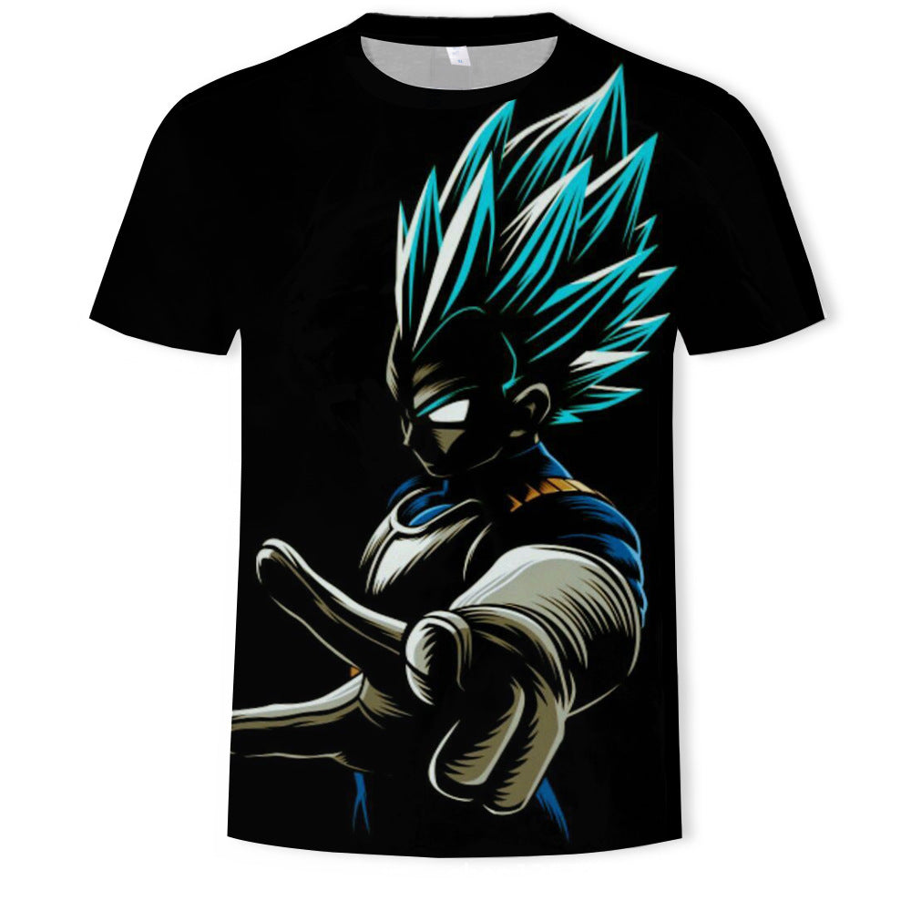 Dragon Ball 3D Printed T-shirt