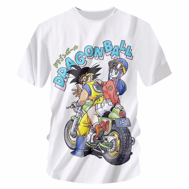Dragon Ball Print T-shirt