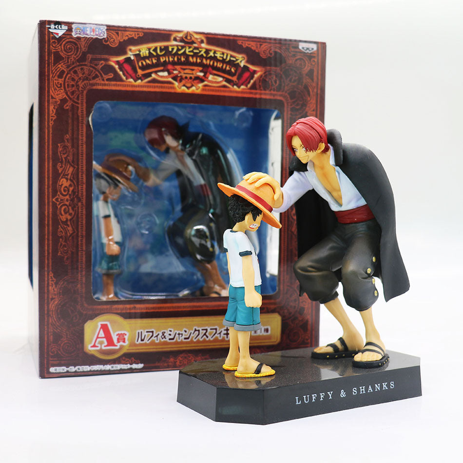 One Piece SHANKS & Luffy FIGURES