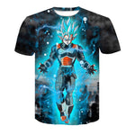 Dragon Ball Son Goku 3D Printed Short Sleeve T-shirt