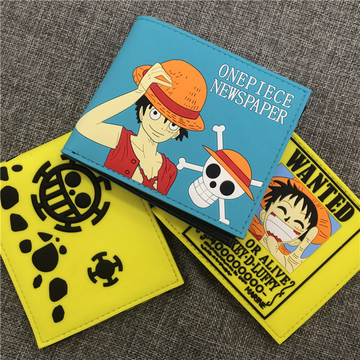 One Piece PVC short wallet