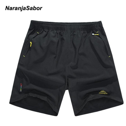 NaranjaSabor New Hot Men's Quick Dry Shorts Men Sportswear Breathable Short Pants Summer Men's Casual Pant Jogger Trousers L~8XL freeshipping - Chittili