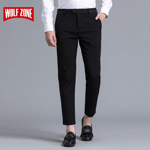 New 2017 Ankle Pants Men Pantalon Homme Brand Clothing Trousers Mens Full Length Straight Top Fashion Spring and Summer Flat - Chittili