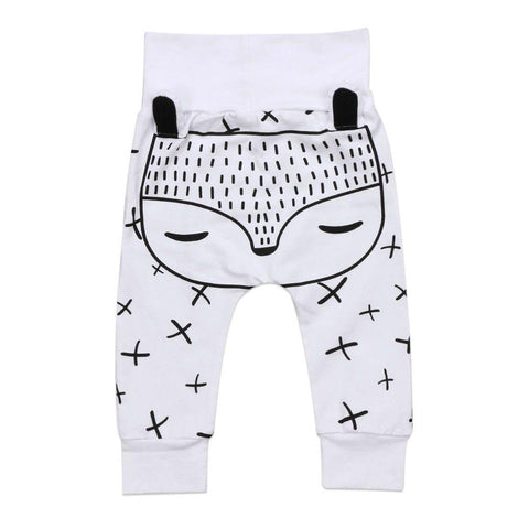 Fox Harem 3D Trousers Leggings - Chittili