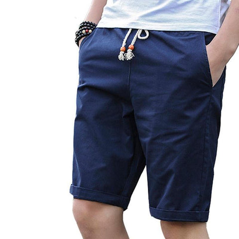 Cotton Shorts Men Brand Casual 2018 Summer Plus Size Men Short Knee Length Surfings Short Leisure Fitness Breathable Shorts 5XL freeshipping - Chittili