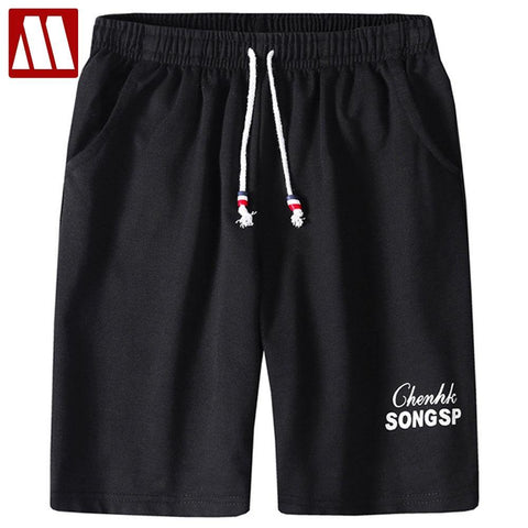 New Fashion Men's Sporting Beaching Shorts Trousers Cotton Bodybuilding Sweatpants Leisure Short Jogger Casual Gyms Men Shorts freeshipping - Chittili