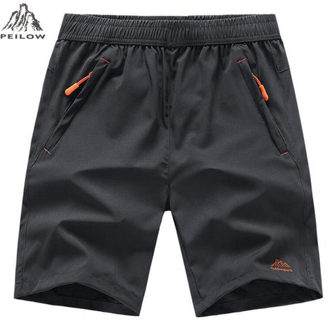 PEILOW Summer Men Beach Shorts Brand Quick Drying Short Pants Casual Clothing Shorts Homme Outwear Shorts Men Size L~7XL 8XL 9XL freeshipping - Chittili