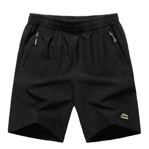 New 2018 Summer Solid Leisure Men Shorts Casual Quick-drying Short Trousers loose Elastic Waist short big size 8XL 9XL 10XL - Chittili