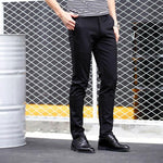 New Arrival Men's slim fit British Style Casual Pants freeshipping - Chittili