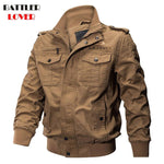 Military Pilot Jackets Men Winter Autumn Bomber Cotton Coat Mens Tactical Army Jacket Male Hombre Casual Air Force Flight Jacket - Chittili