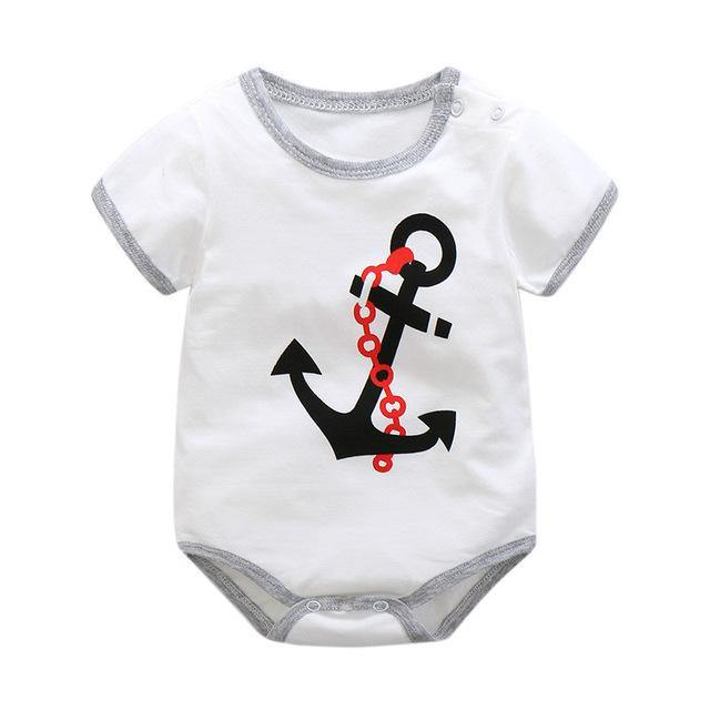 7d64c307cd9 ... New Summer Baby Boys Romper Animal style Short Sleeve infant rompers  Jumpsuit cotton Baby Rompers Newborn ...