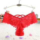 Women Cotton Briefs Sexy Lace Panties Seamless Breathable Hollow low-Rise Girl Underwear High Quality