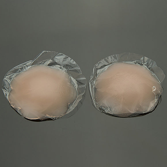 New Cup Bra Thin Invisible Silicone  Pads Breathable  Invisible Silicone Bra