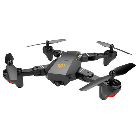 XS809 2.4GHz 4CH 6-axis Gyro Pocket Mini Selfie Foldable Drone RC Drone Quadcopter WiFi FPV 0.3 MP Camera Altitude Hold RTF