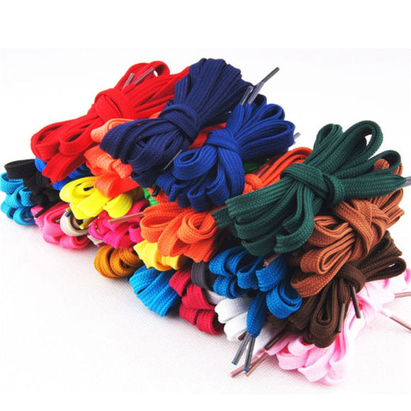 12 Pairs of Replacement Flat Shoelaces Shoe Laces Strings for Sports Shoes /Boots /Sneakers /Skates