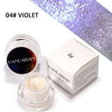 Glitter Highlight Eye Shadow Powder Palette High Light Eyeshadow Cosmetic Makeup