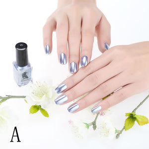 Mirror Nail Polish Plating Silver Paste Metal Color Stainless Steel Mirror