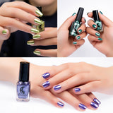 Mirror Nail Polish Plating Silver Paste Metal Color Stainless Steel